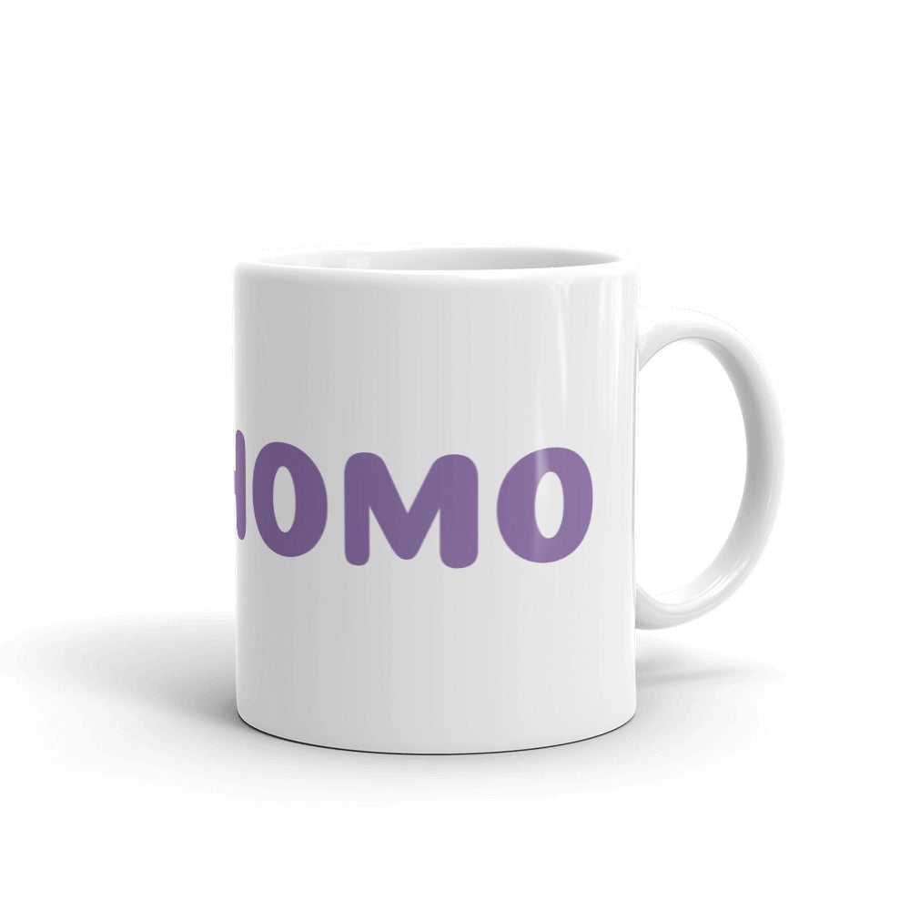 Yes Homo Mug – White - mug - shoppassionfruit
