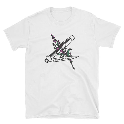 Lavender Menace Shirt – White - shirt - shoppassionfruit