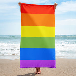 Rainbow Beach Towel - towel - shoppassionfruit