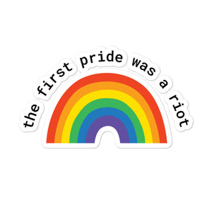 Pride Riot Die Cut Stickers