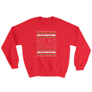 Ho Ho Homo Sweatshirt – Red
