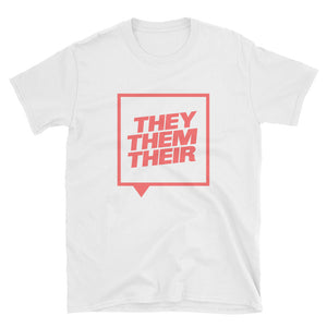 They Them Their Shirt - White - shirt - shoppassionfruit