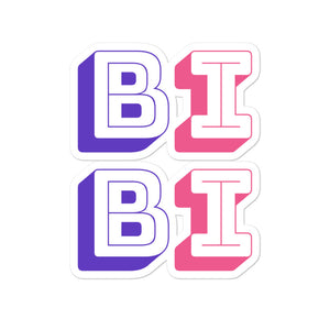 Bi Bi Die Cut Sticker