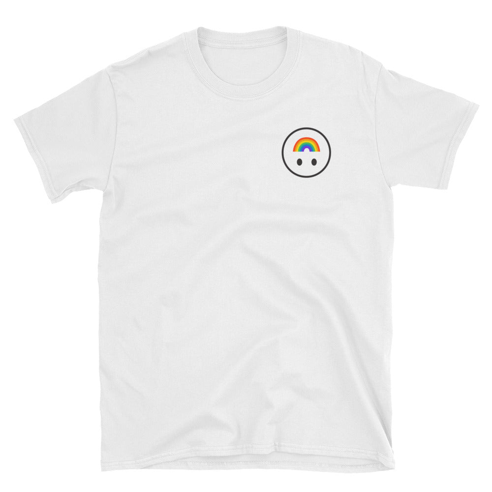 Happy Pride Face T-Shirt - shirt - shoppassionfruit