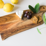 Acacia Serving Board with curved handle