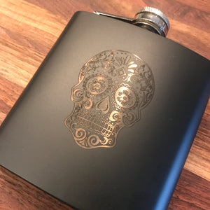 Custom Engraved Flask