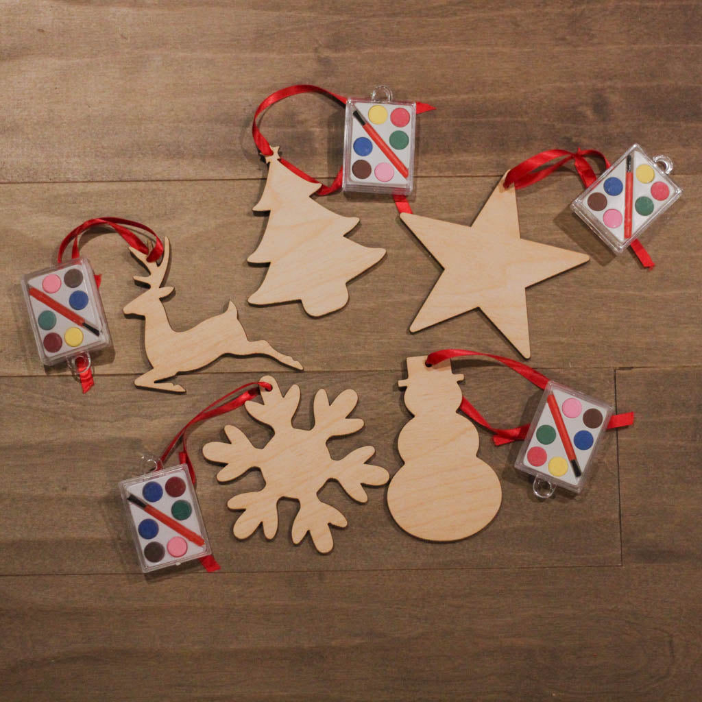 Paintable Ornament Set