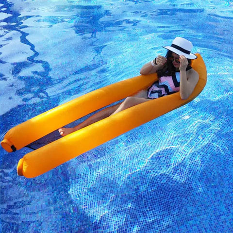 Outdoor inflatable Pool Floating Mattress مستلزمات