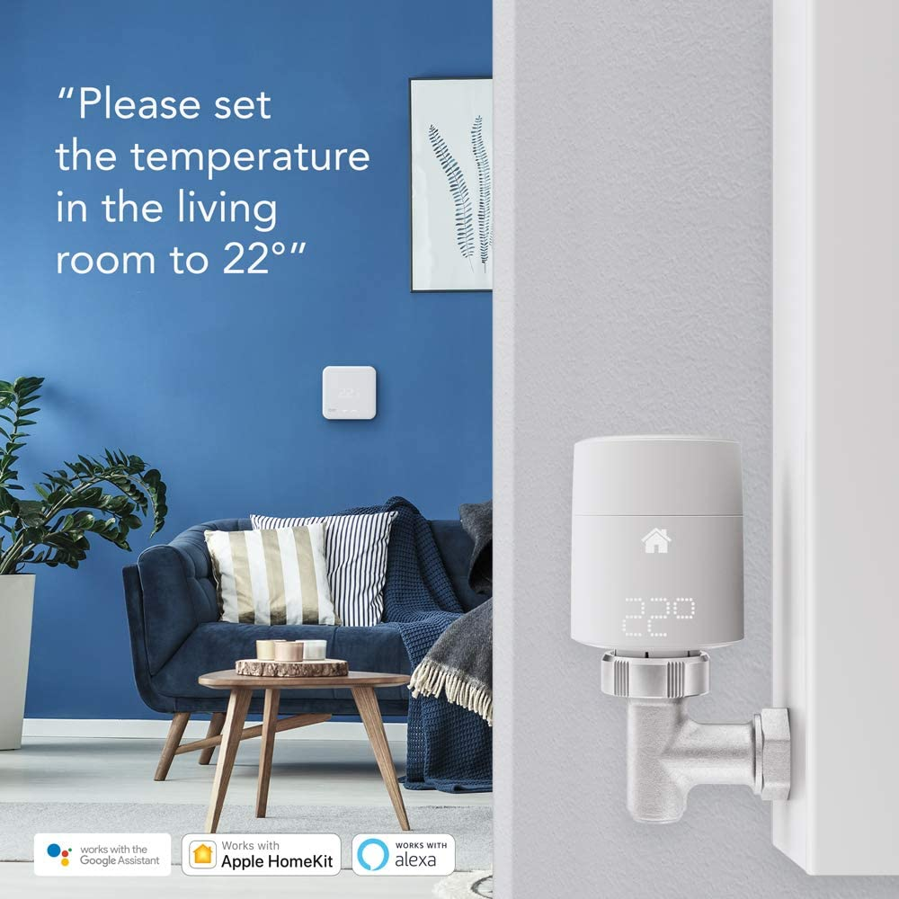 tado Smart Radiator Thermostat – Starter Kit V3+ (Vertical)