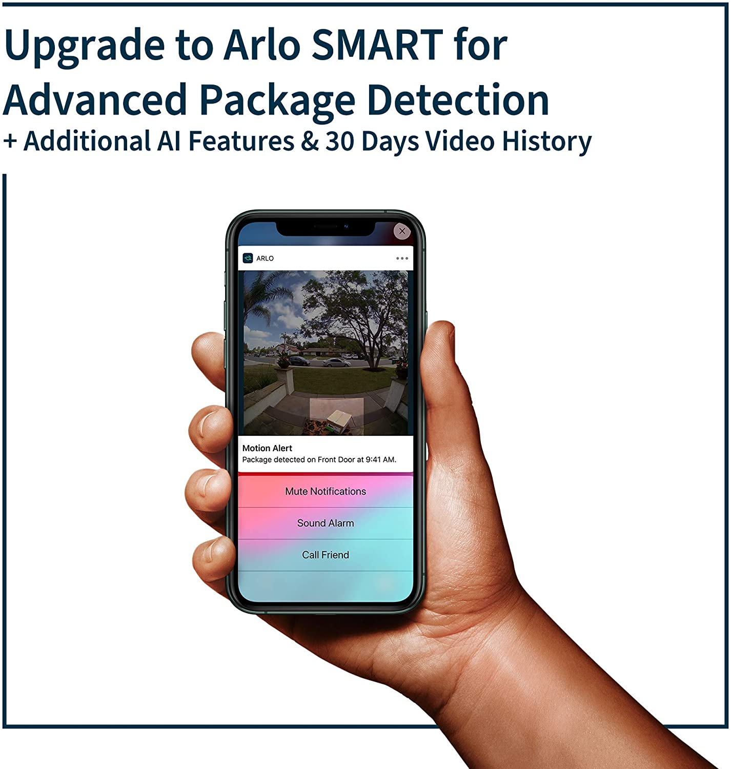 Arlo Battery Doorbell - 2K Video