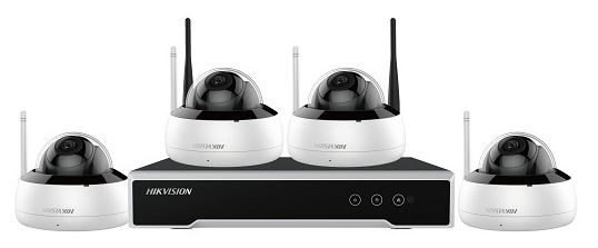 HikVision Dome Camera 4 Channel WiFi Kit