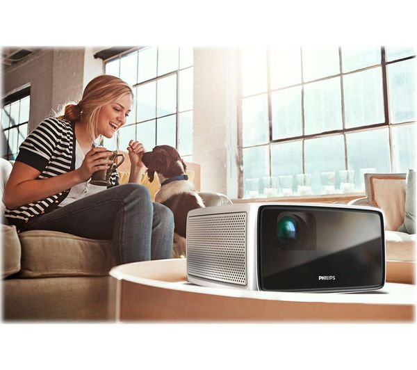 "Philips Screeneo S4 - Full HD 157"" Home Projector"