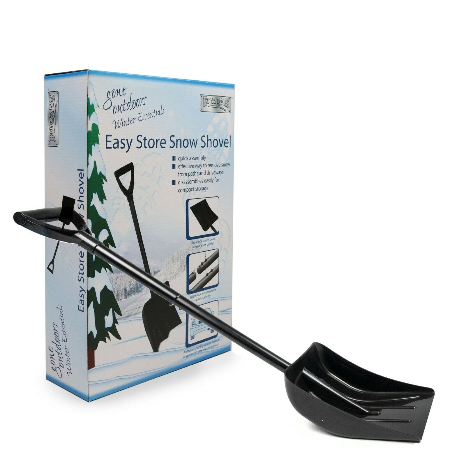 Gone Outdoors Collapsible Snow Shovel