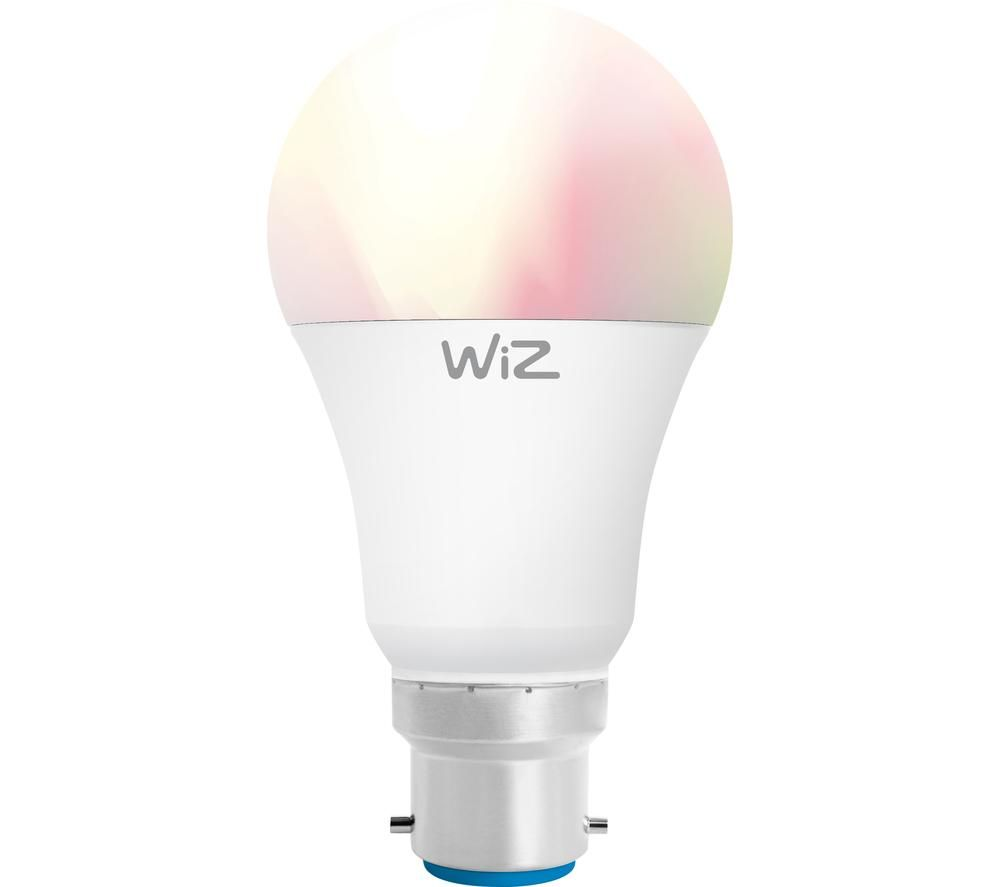WiZ Colours Smart LED Light Bulb - B22