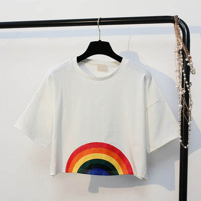 Rainbow Crop Top  - Equally Younique LGBTQ Shop