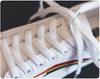 All White Magic Patch Rainbow Shoes  - Equally Younique LGBTQ Shop