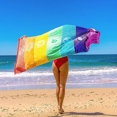 Rainbow Beach Towel  - Equally Younique LGBTQ Shop
