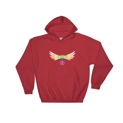 """The Ultimate"" Gay Hoodie Red / S - Equally Younique LGBTQ Shop"