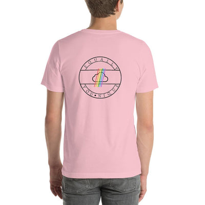 """Colorful Pride Arrow"" Unisex T-Shirt  - Equally Younique LGBTQ Shop"