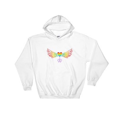 """The Ultimate"" Gay Hoodie White / S - Equally Younique LGBTQ Shop"