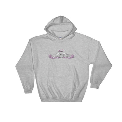"""Asexual"" Hooded Sweatshirt Sport Grey / S - Equally Younique LGBTQ Shop"