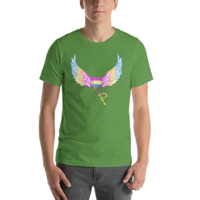 """Colorful Pride"" Short-Sleeve Unisex T-Shirt Leaf / S - Equally Younique LGBTQ Shop"