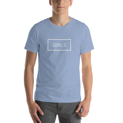 """Blue Gender Reverse"" Short-Sleeve Unisex T-Shirt Baby Blue / S - Equally Younique LGBTQ Shop"