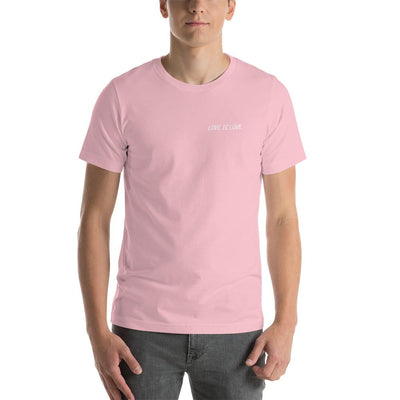 """Love is Love"" Unisex T-Shirt Pink / S - Equally Younique LGBTQ Shop"