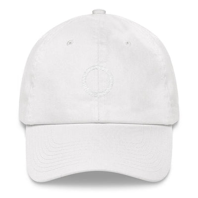 """Asexual"" Symbol Baseball Cap White - Equally Younique LGBTQ Shop"