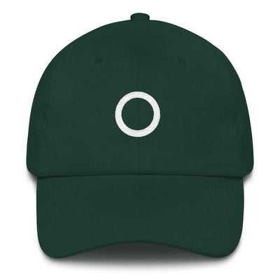 """Asexual"" Symbol Baseball Cap Spruce - Equally Younique LGBTQ Shop"