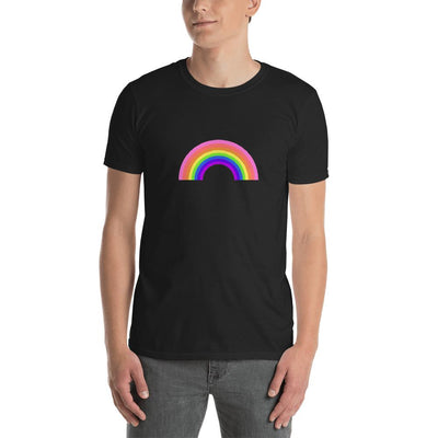 LGBTQ+ Original Rainbow Unisex T-Shirt Black / S - Equally Younique LGBTQ Shop