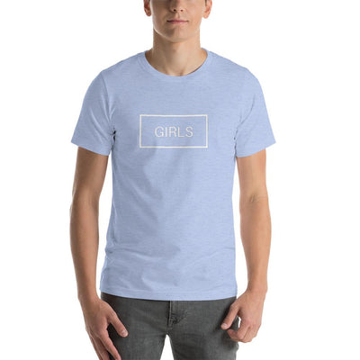 """Blue Gender Reverse"" Short-Sleeve Unisex T-Shirt Heather Blue / S - Equally Younique LGBTQ Shop"