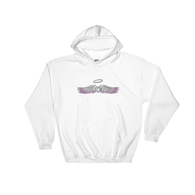 """Asexual"" Hooded Sweatshirt White / S - Equally Younique LGBTQ Shop"