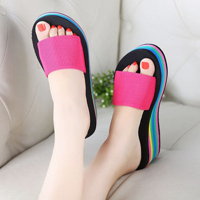 Rainbow Beach Sandals  - Equally Younique LGBTQ Shop
