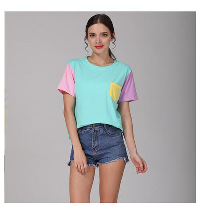 Colorful Patchwork T-Shirt  - Equally Younique LGBTQ Shop