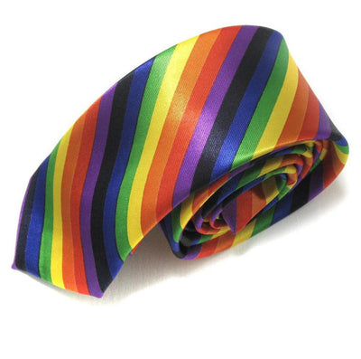 """Rainbow Pride"" Cravat Tie  - Equally Younique LGBTQ Shop"