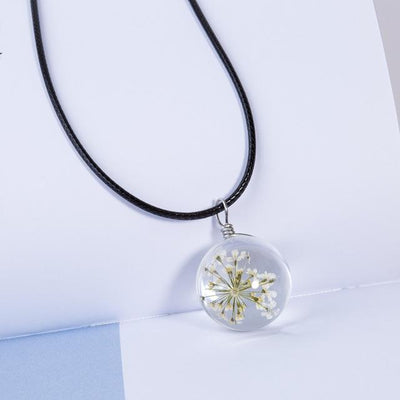 """Flower Glass"" Equality Pendant Necklace  - Equally Younique LGBTQ Shop"