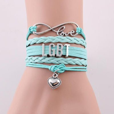 LGBT Love Bracelet  - Equally Younique LGBTQ Shop