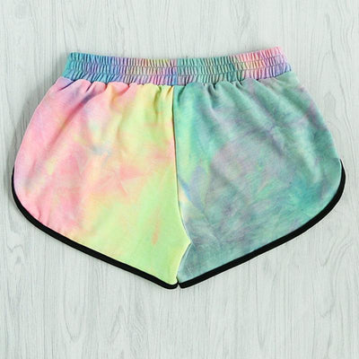 Rainbow Tie Dye Shorts  - Equally Younique LGBTQ Shop