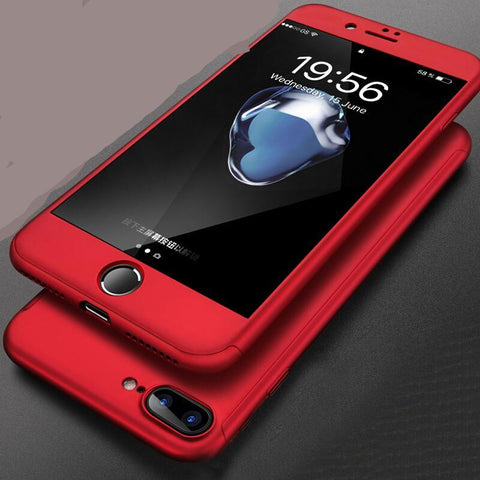 Full cover Red Cases For iPhones