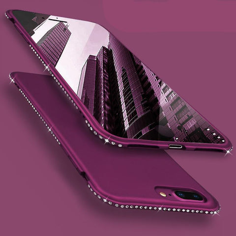 Luxury Diamond Silicon case For iPhone