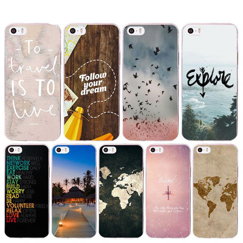 World Map Soft Phone Case