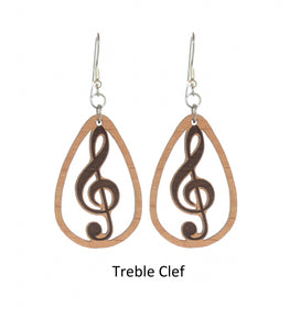 "Wood - ""Treble Clef"""