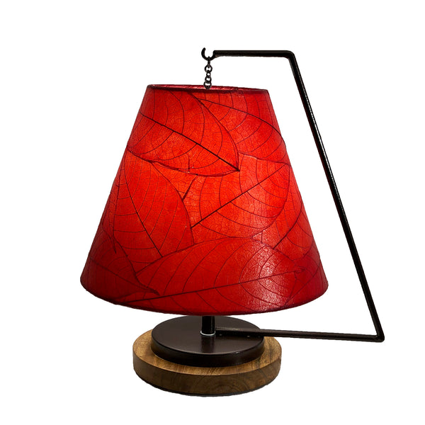 Pendulum Shade Table Lamps - Asst Colors