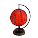 Pendulum Orb Table Lamps - Asst Colors