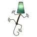 Gecko Wall Lamps 24 Inch - Asst Colors