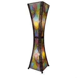 Hourglass Large Floor Lamp 48 Inch - Asst Colors