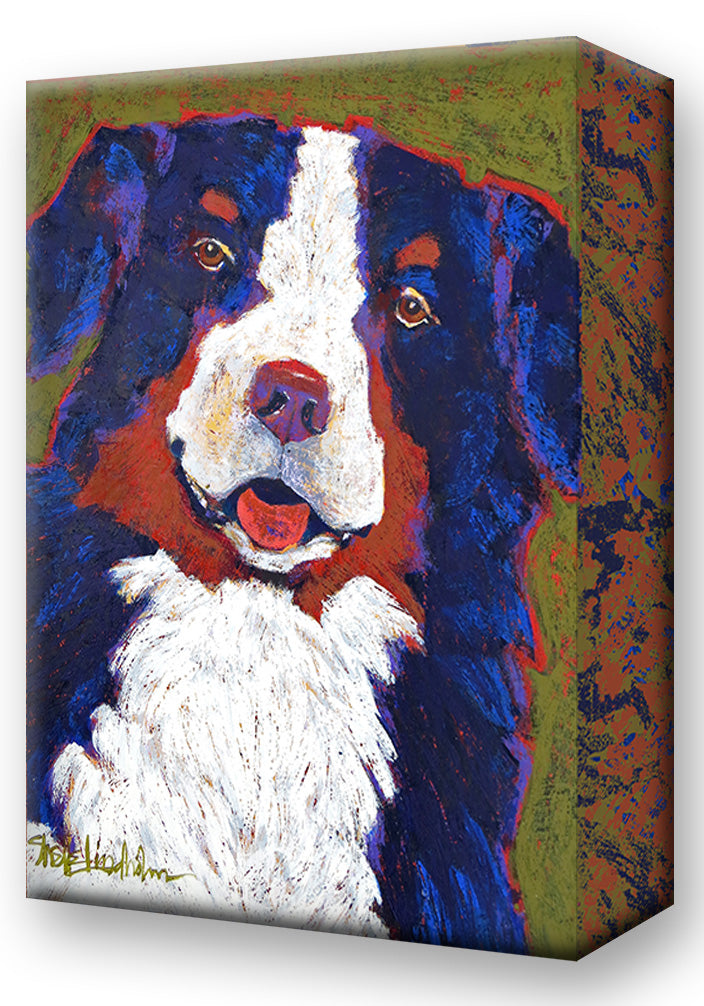 Bernie, Bernese Mountain Dog:  Metal 18x26 Inches