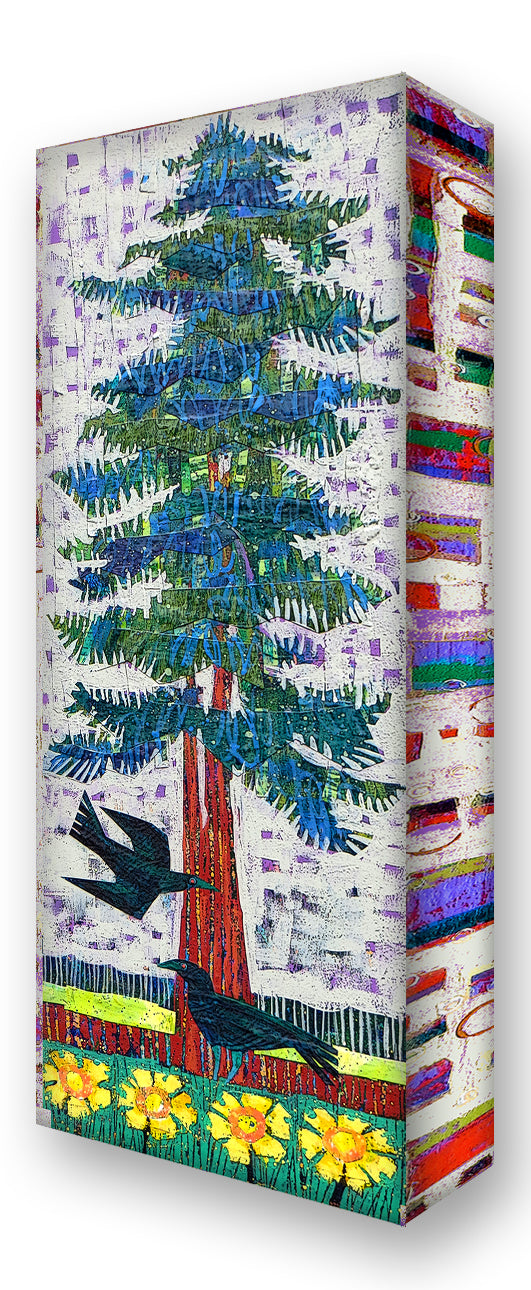 Blue Spruce 2:  Metal 17x44 Inches