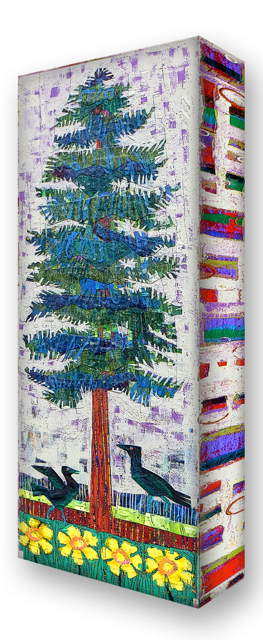 Blue Spruce 3:  Metal 17x44 Inches